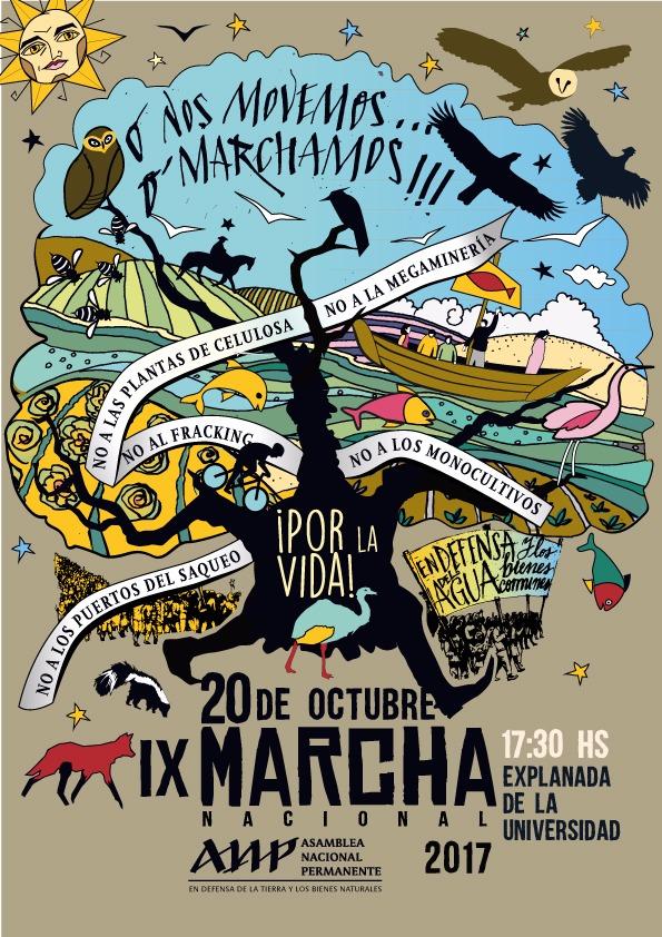 20 de octubre: IX marcha nacional de la ANP