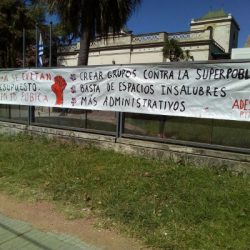 COMUNICADO Público de Comisión Directiva de Ades Montevideo