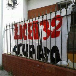 Núcleo sindical del Liceo 32 suspende ocupación