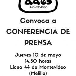 Conferencia de prensa jueves 10/05