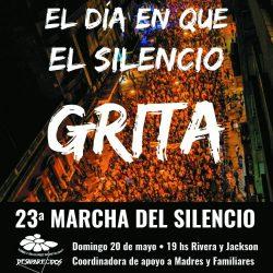 23 Marcha del silencio – 20 de mayo
