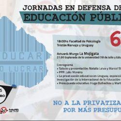 Jornada de privatización y mercantilización de la educación en Montevideo