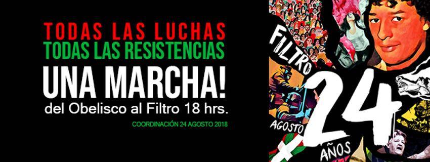 ADES Montevideo convoca a marchar a 24 años de la represión del Filtro