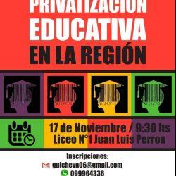 Jornadas de los trabajadores de la Educación 17 de noviembre