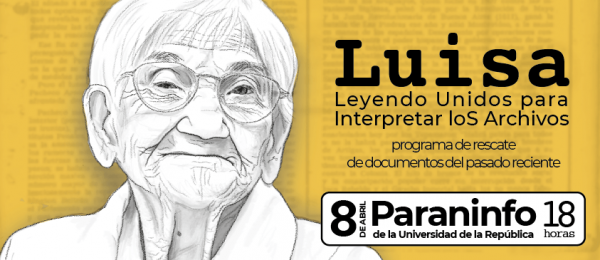 Lunes 8 de abril: presentación del programa informático Leyendo Unidos para Interpretar loS Archivos (Luisa)