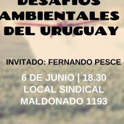 """Conversatorio """"Desafíos ambientales del Uruguay"""""""