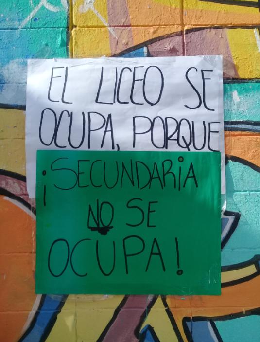 Docentes y estudiantes del Liceo N° 72 continuarán con la medida de ocupación ante la falta de respuestas del CES
