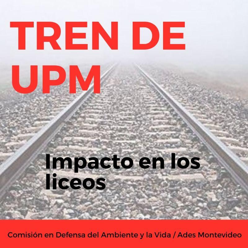 ADES Montevideo solicita información al CES sobre impacto en liceos del tren de UPM