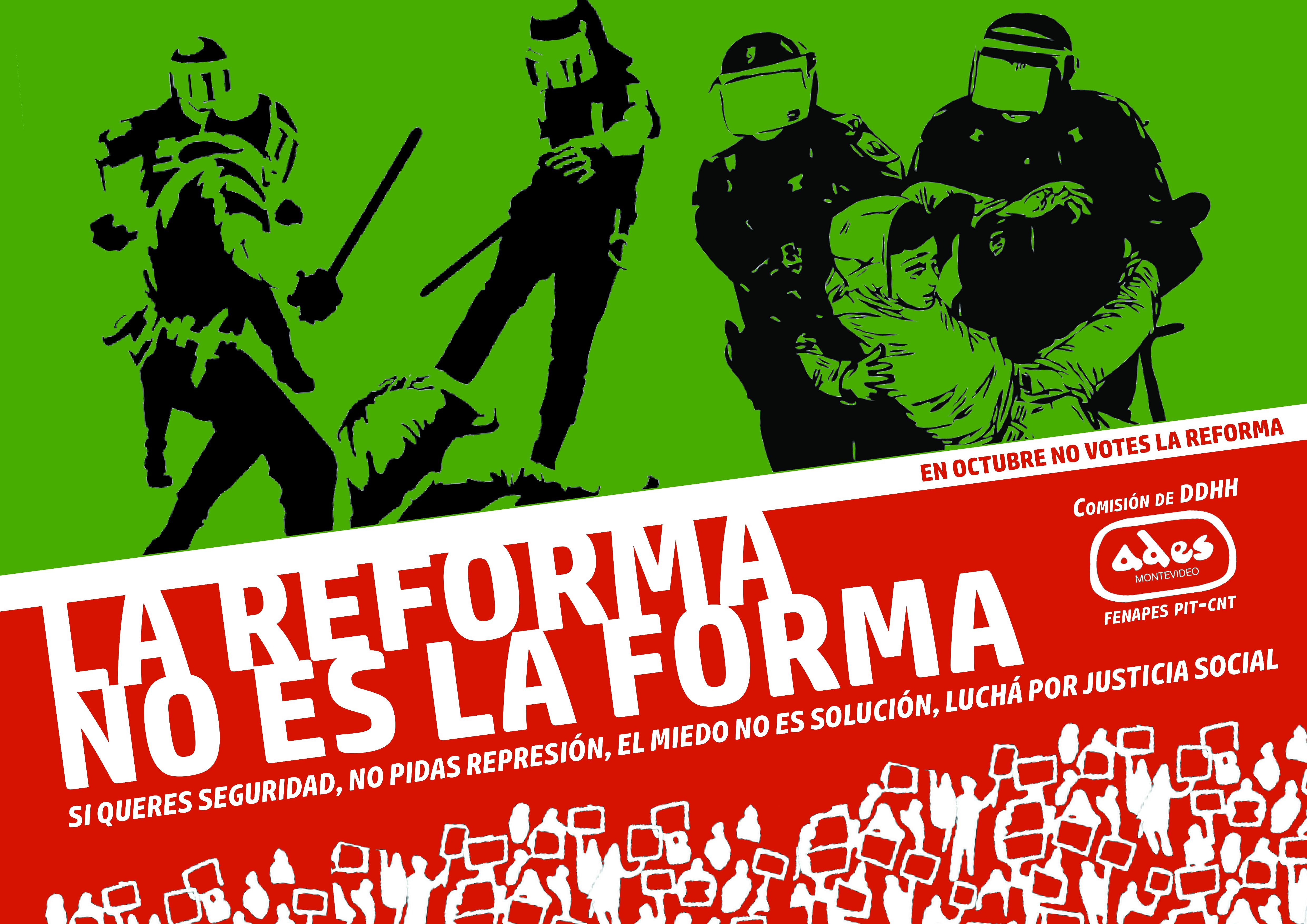 La reforma no es la forma