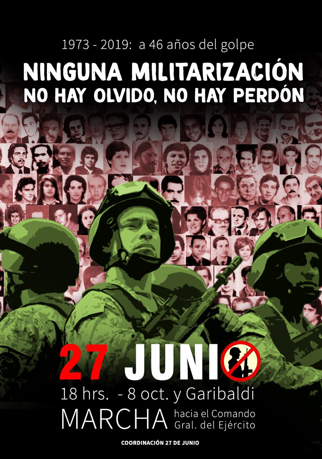 Actividades en torno al 27 de junio: a 46 años de la huelga general ante el golpe