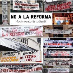 Comunicado de la Comisión Directiva sobre la represión a la libertad de expresión de gremios estudiantiles