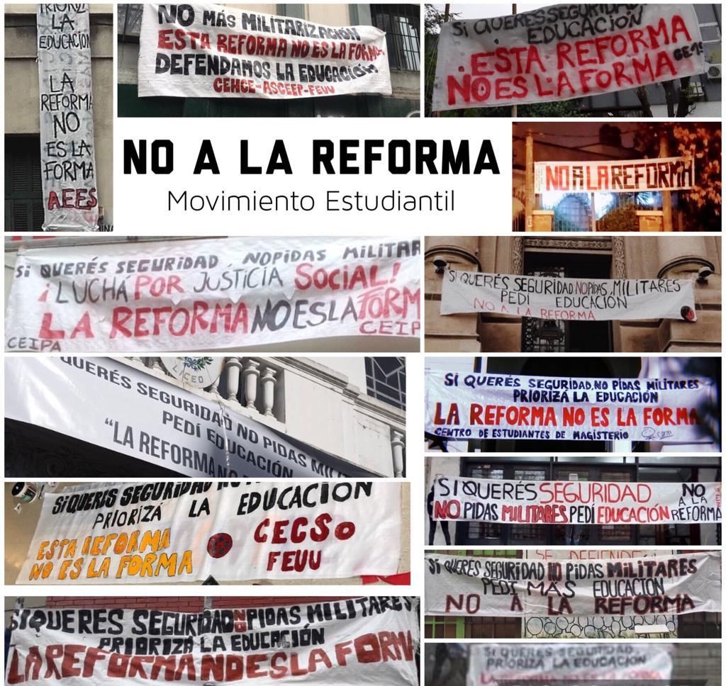 Declaración pública de FeNaPES en torno a la colocación de carteles en centros de estudio